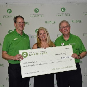 All Faiths Food Bank Receives $150,000 from Publix Super Markets Charities