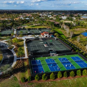 New Tennis Center At The Lake Club Opens With Great Success