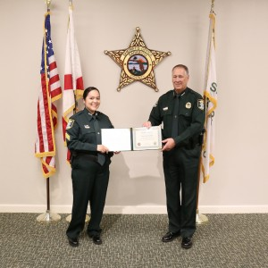 Sarasota County Sheriff Pleased to Announce Internal Promotion