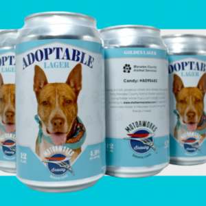 Motorworks Is Brewing Up a Good Cause: Adoptable Lager