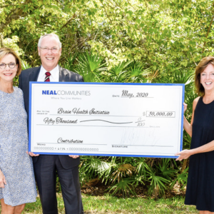 Neal Communities Contributes $50,000 to the Brain Health Initiative for Florida, Suncoast Region