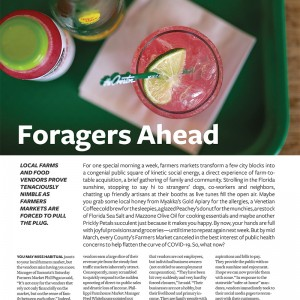 Foragers Ahead